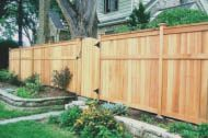Wood is a classic choice. Wood has so many different options to choose from. You can choose a standard or get a custom unique fence! You can also stain or paint a wood fence to align with your style. When properly maintained, wood can lost a very long time. Let us install your wood fence!
