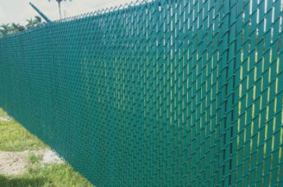 Chain link is a great choice when you want an affordable option that is going to provide a great boundary and perimeter to your desired location on your property. Chain link comes in so many styles and colors now, or you can choose a straight aluminum look as well. If you need privacy, vinyl slats can be inserted in the chain links for that !